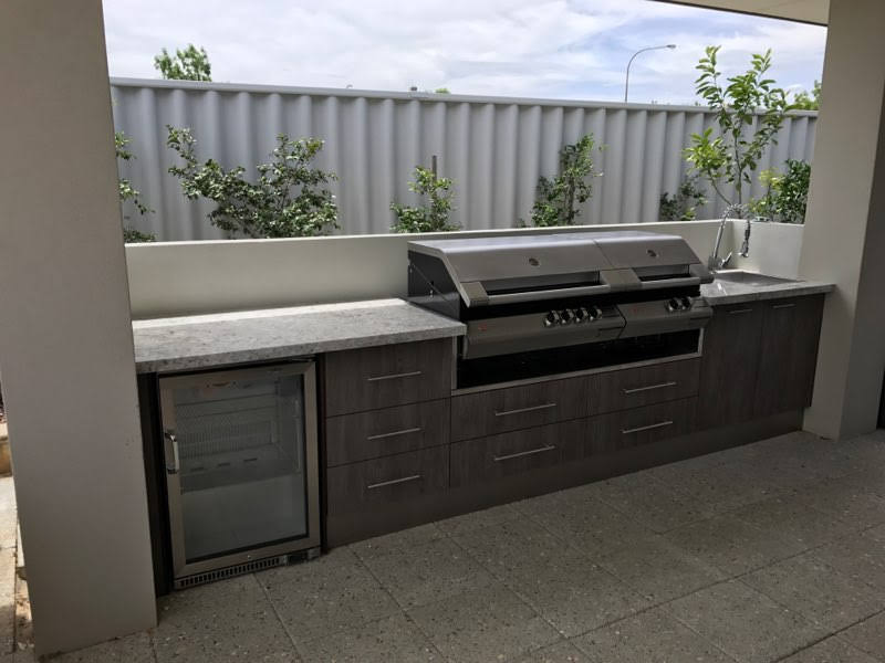 Cabana Waterproof Cabinets - Outdoor Alfresco Kitchens